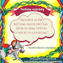 citát-1-260x260 Citát z rozprávky Medovníkova chalúpka