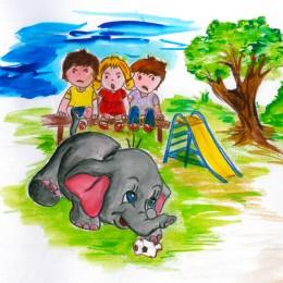 slon1-260x260 Rozprávka ako darček - O sloníkovi Filipkovi