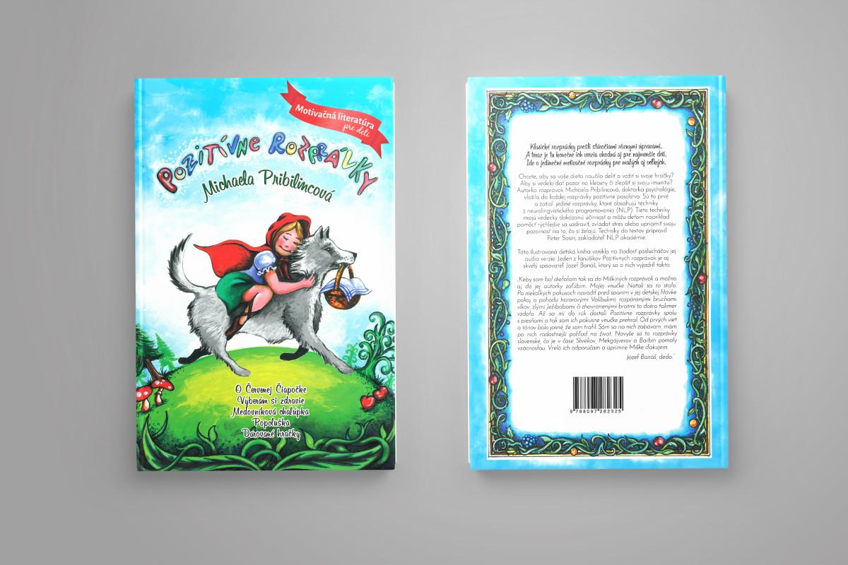 vnutro NOVINKA! Kniha Pozitívne rozprávky  obalka NOVINKA! Kniha Pozitívne rozprávky